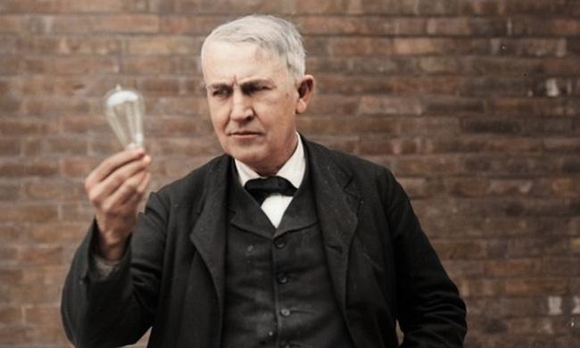 Эдисон проплакал несколько часов. Автор неизвестен.