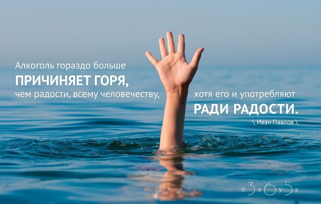 Алкоголь гораздо больше причиняет горя, чем радости, Иван Павлов, Бочонок Мёда для Сердца