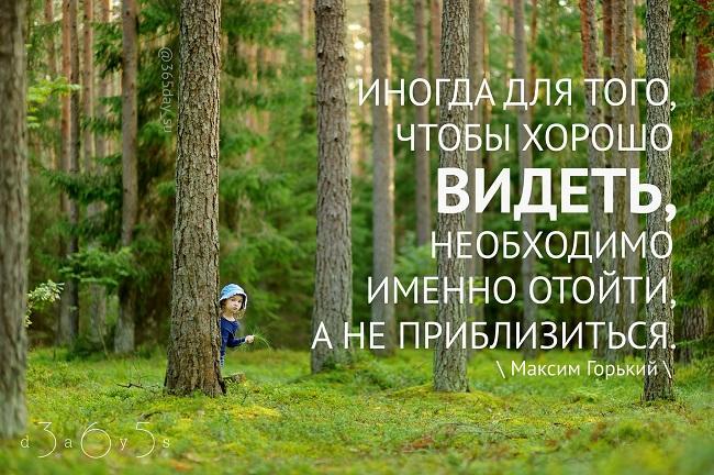 Иногда для того, чтобы хорошо видеть, Максим Горький, Бочонок Мёда для Сердца