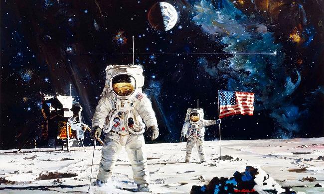 Послание на Луну, Автор неизвестен