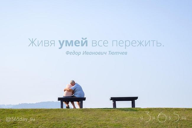 Живя, умей все пережить, Фёдор Иванович Тютчев, Бочонок Мёда для Сердца